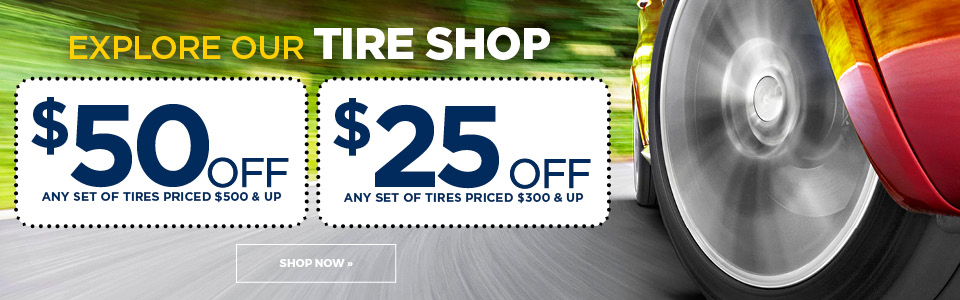 Shop this Week's Tire Sale