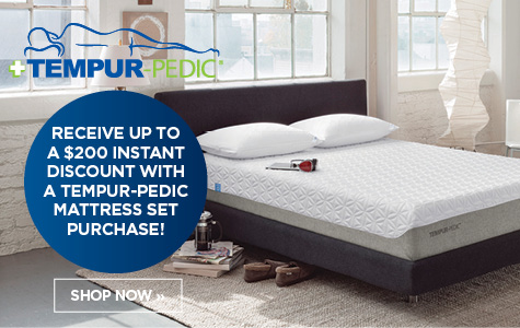 $200 Instant Discount on Tempurpedic