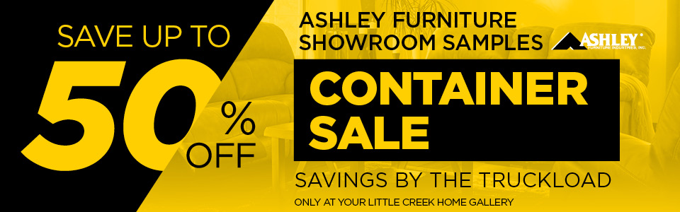 Ashley Furniture Clearance Event