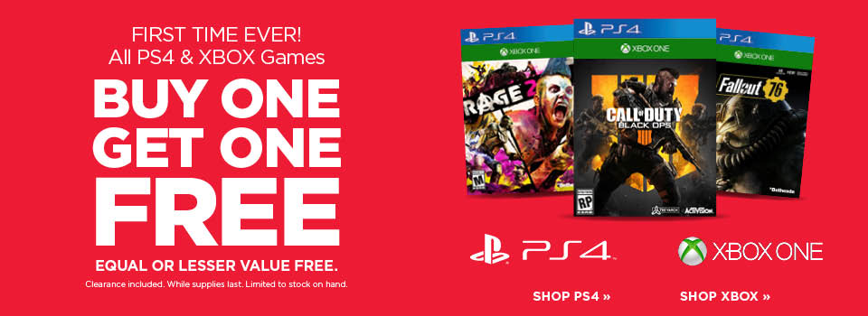Buy One Get One Free Video Games