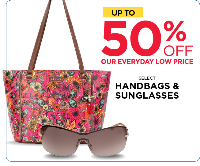 Save Up to 50% Off Handbags and Sunglasses