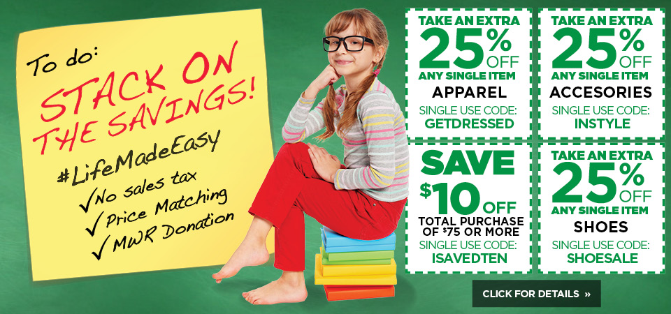 Stack on the savings with amazing coupons here