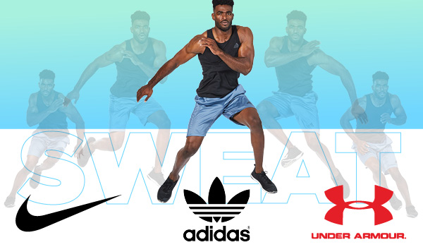 Shop Nike, Under Armour and Adidas Active Apparel