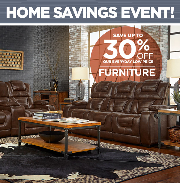 30% Off All Furniture