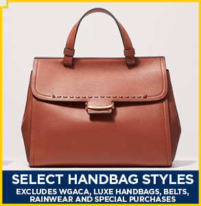 20% Off Select Handbags