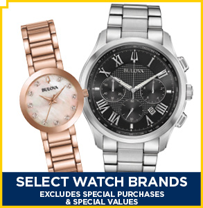 20% Select Watches