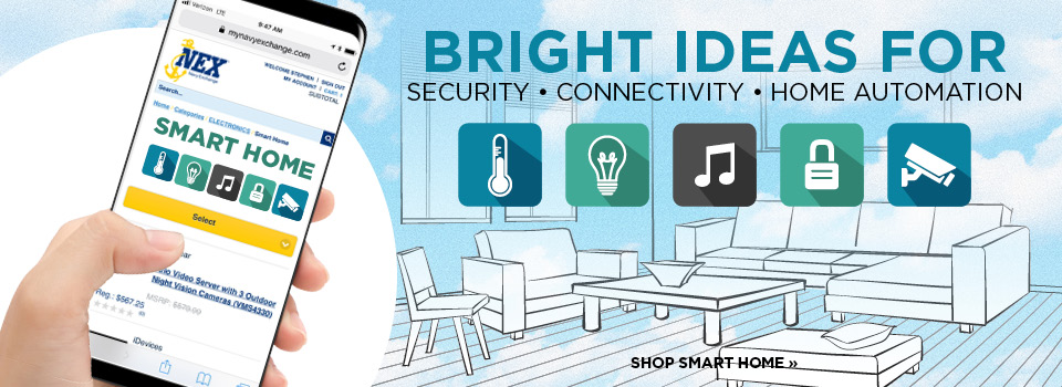 Bright ideas for a smart home
