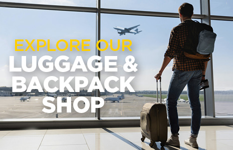 Explore our Backpack and Luggage Shop