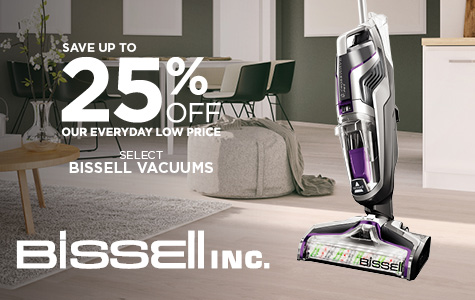 Save Up to 25% Bissell Vacuums