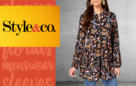 30% Off Style & Co Women's Apparel