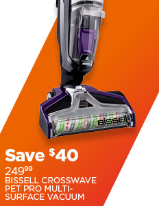 Save on Bissell Crosswave Pet Pro Multi-Surface Vacuum