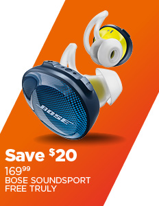 Save $20 on Bose Earbuds