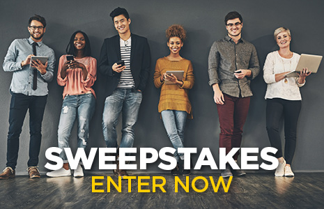 Enter to Win! Visit Our Sweepstakes Page