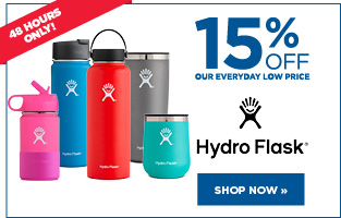 15% off Hydroflask