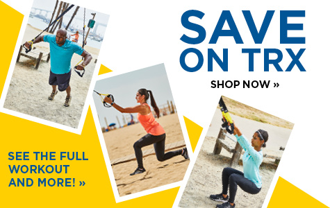 Save on TRX fitness gear
