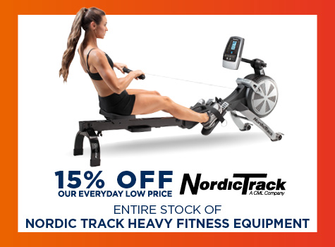 15% Off Nordic Track Heavy Fitness Equipment