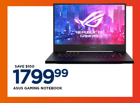 Save on Asus Gaming Notebook