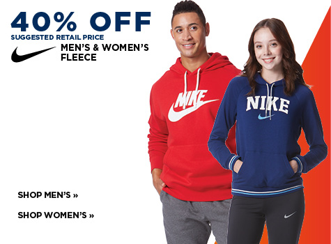 40% Off Suggested Retail Price Nike
