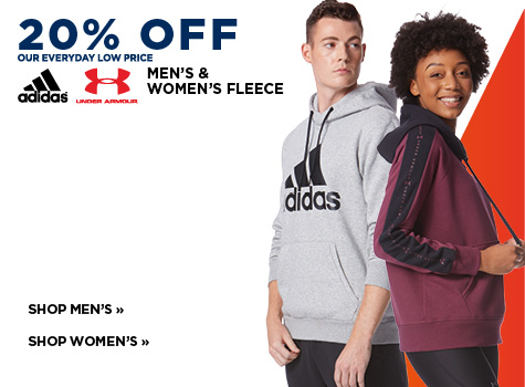 20% Off Everyday Low Price. Adidas, Under Armour