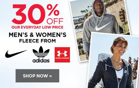 30% off Fleece for Men and Women