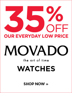 35% off Movado watches