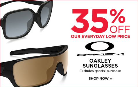 35% off Oakley sunglasses