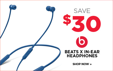 Save $30 on Beats X Wireless In-Ear Headphones