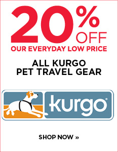 Save 20% Off All Kurgo Travel Gear