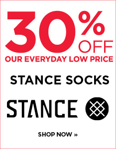 30% off Stance socks