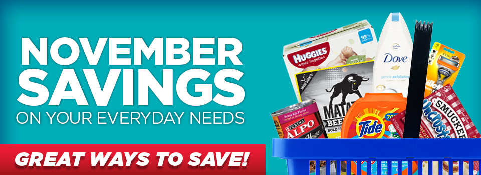 Check Out This Month's in Store Savings