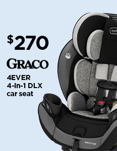 $270 Graco 4Ever 4-in-1 DLX Car Seat