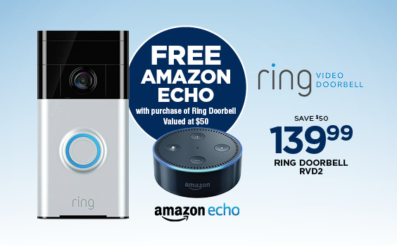 Free Amazon Echo with Purchase
