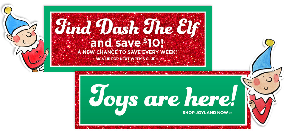 Find the Elf and Get a Coupon