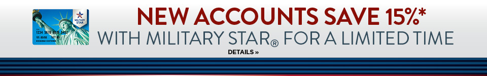Save More with Your Military Star Card