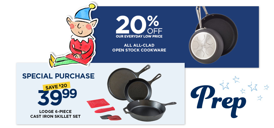 Prep for the Holidays with This Sale on Cookware