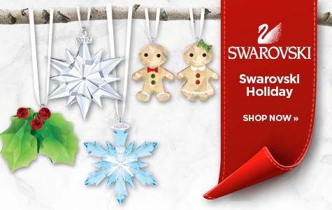SWAROVSKI CRYSTAL LIVING HOLIDAY COLLECTION