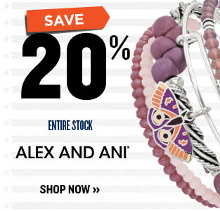 20% OFF ALEX & ANI
