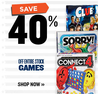 40% OFF GAMES