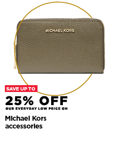 Up to 25% off Michael Kors accessories