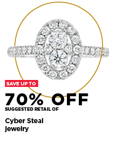 Cyber Steals save up to 70% off suggested retail