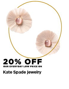 20% off Kate Spade jewelry