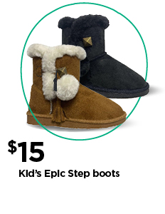 $15 Kids Epic Step boots