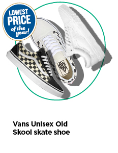 Lowest price of the year on Vans