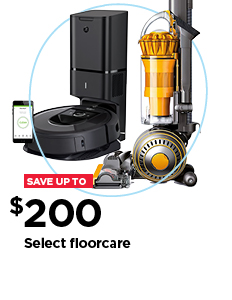 Save up to $200 on select floorcare