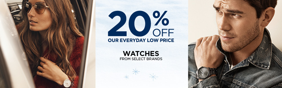 20% Off Select Watches