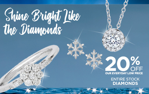 20% Off Diamonds
