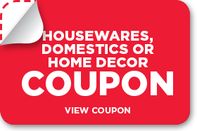 Save 20% on any single houseware item with coupon code GIVEHOME