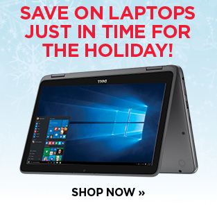 Save on Laptops just in time for the Holiday