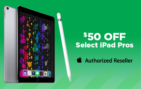 $50 Off Select Apple iPad Pro