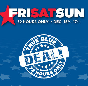 Explore our True Blue Deals